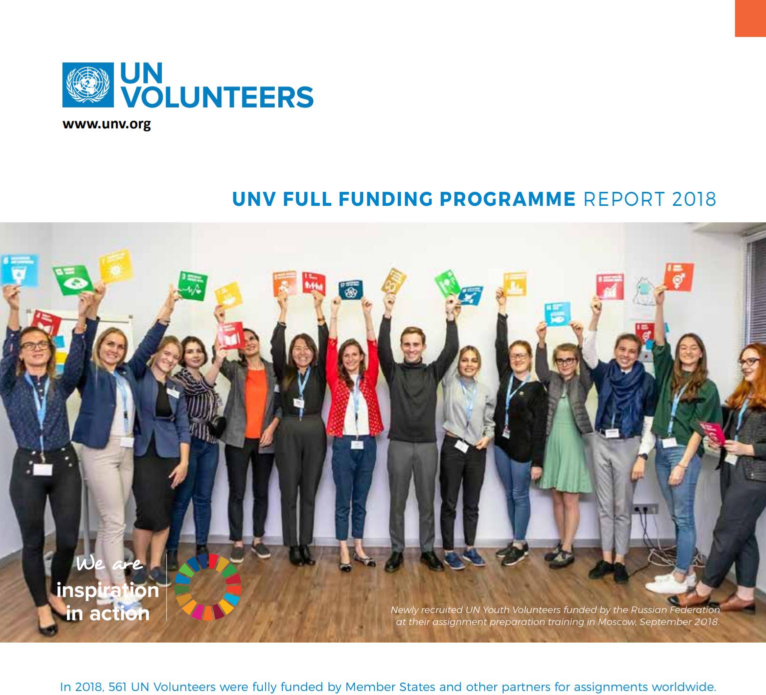 UNV 2018 Report Cover