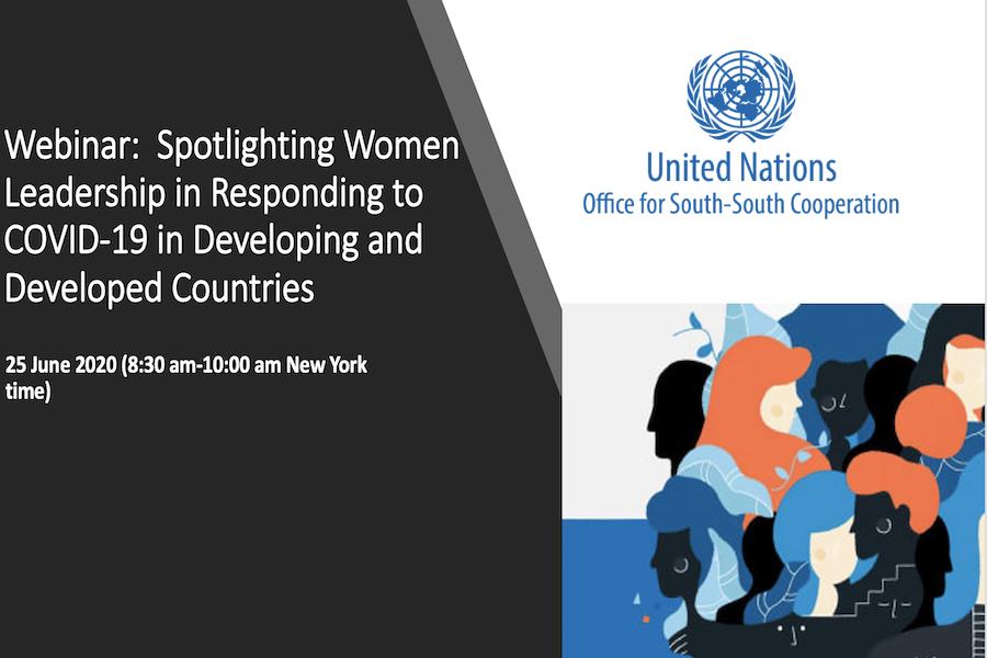 Spotlighting Women Leadership in Responding to COVID-19 in the Global South