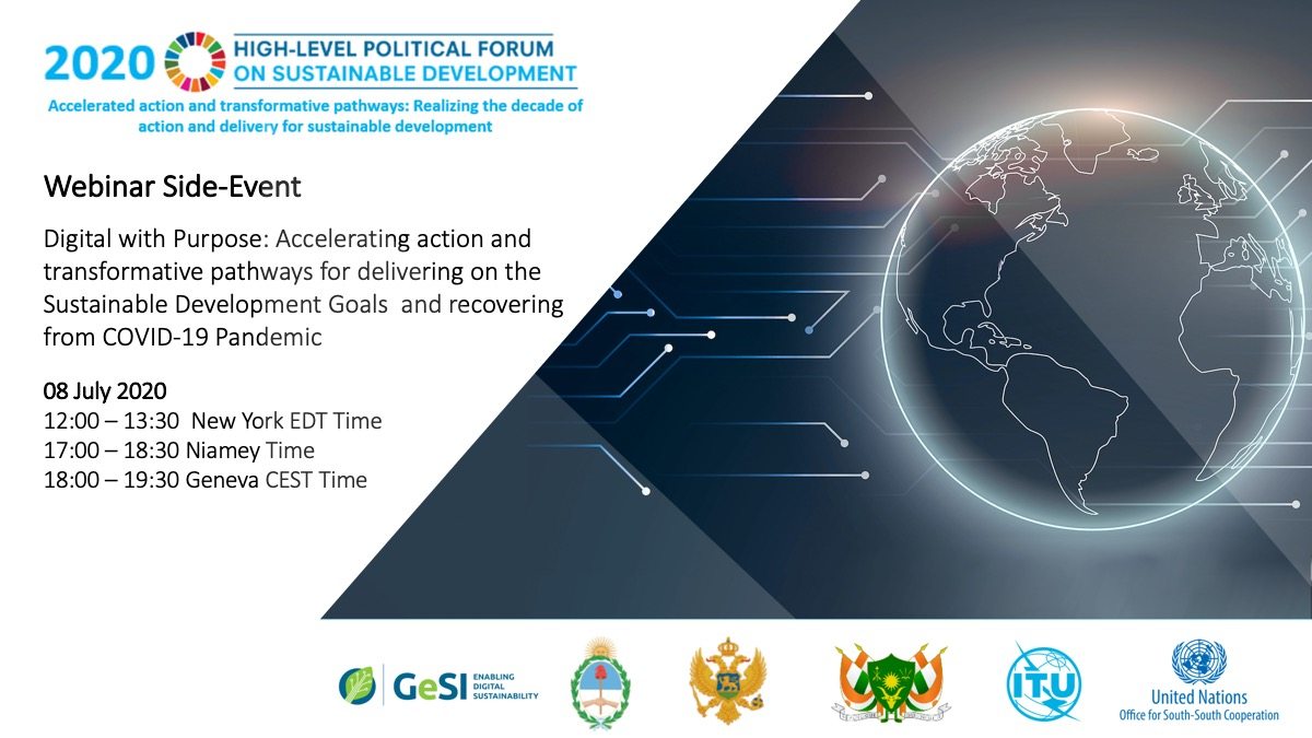 Digital with Purpose: Accelerating Action and Transformative Pathways for Delivering on the Sustainable Development Goals  and Recovering  from COVID-19 Pandemic