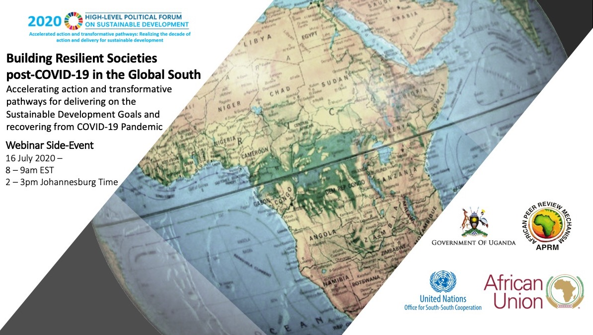Building Resilient Societies post-COVID-19 in the Global South