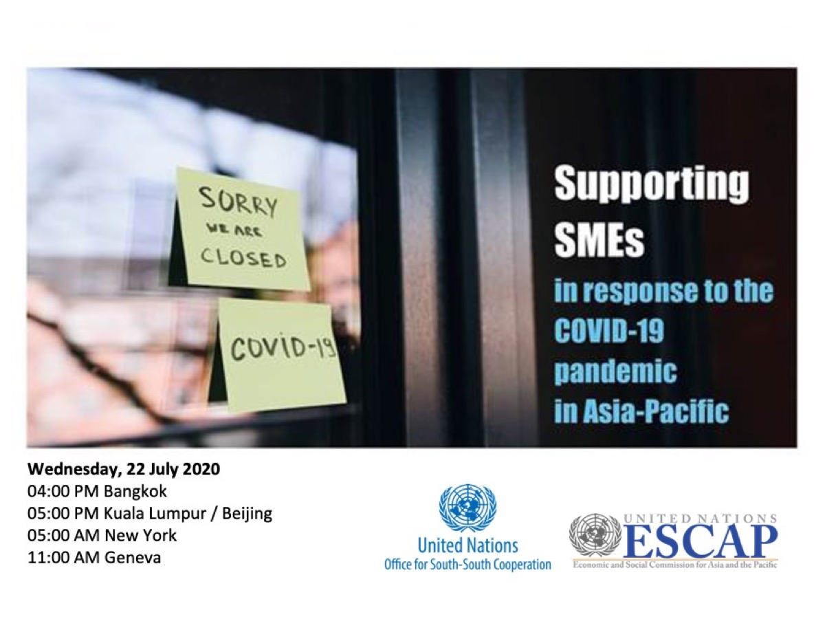 Supporting SMEs in Response to the COVID-19 Pandemic in Asia-Pacific