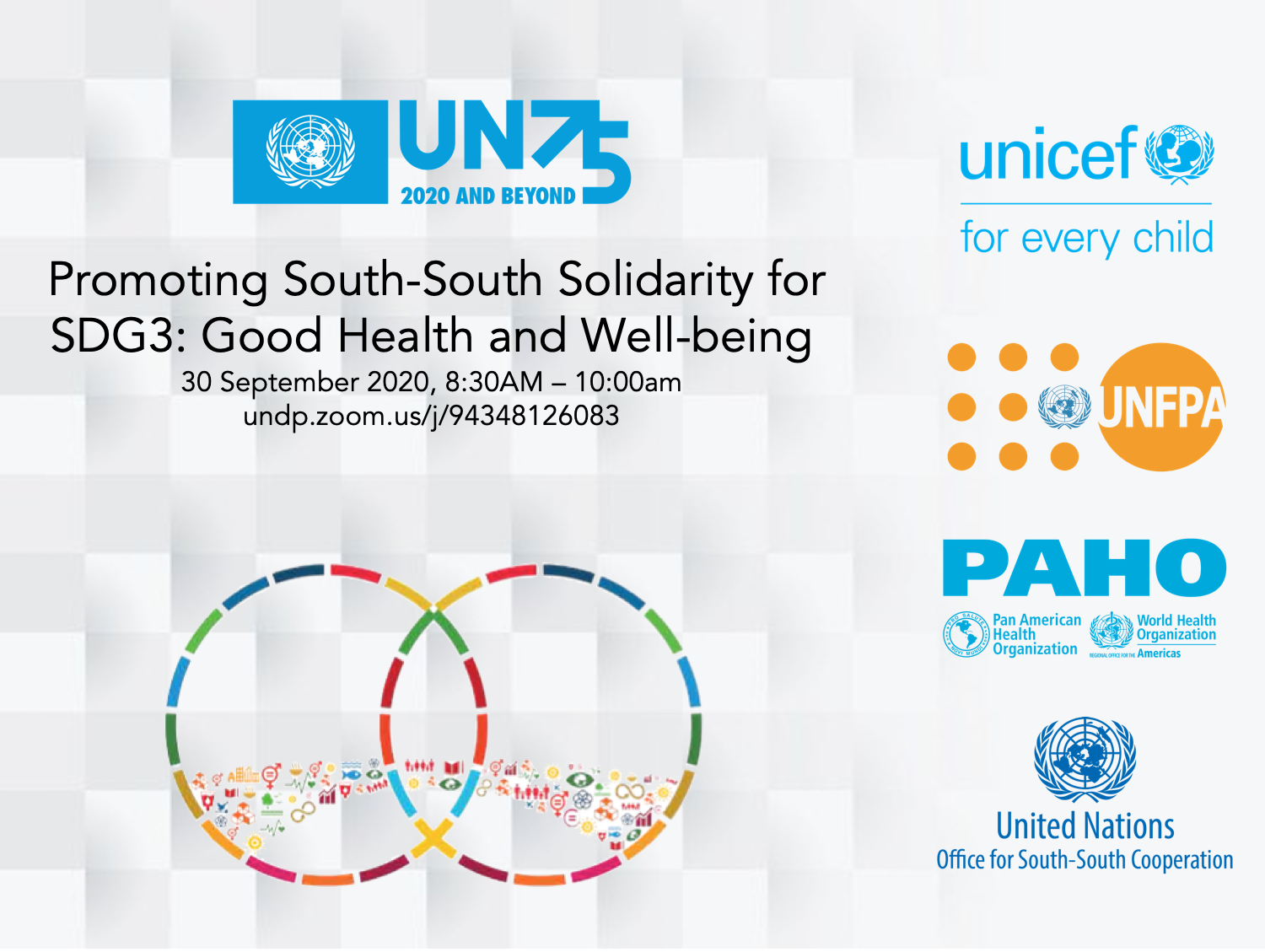 Promoting South-South Solidarity for SDG3: Good Health and Well-being