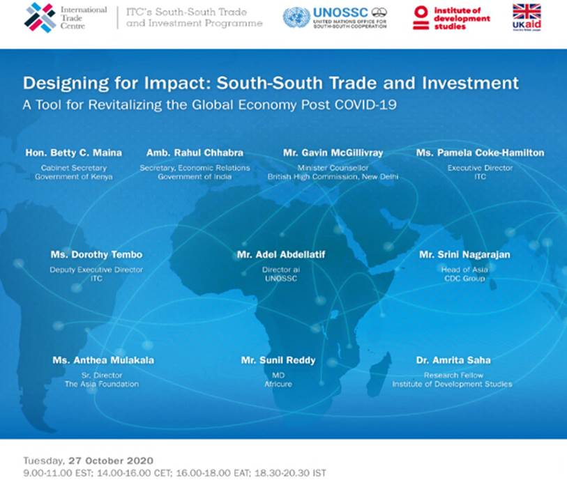 Designing for Impact – South-South Trade & Investment