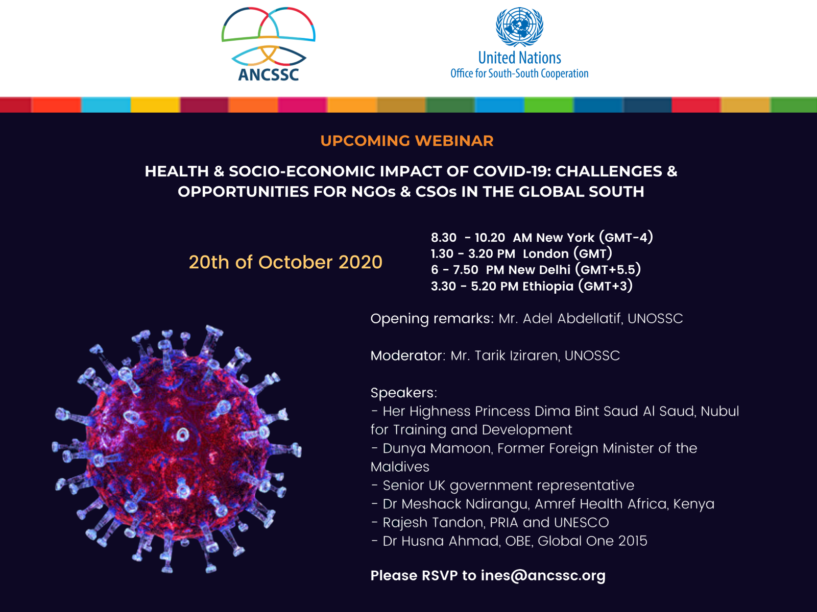 Health and Socio-Economic Impact of COVID19: Challenges and Opportunities for NGOs and CSOs in the Global South