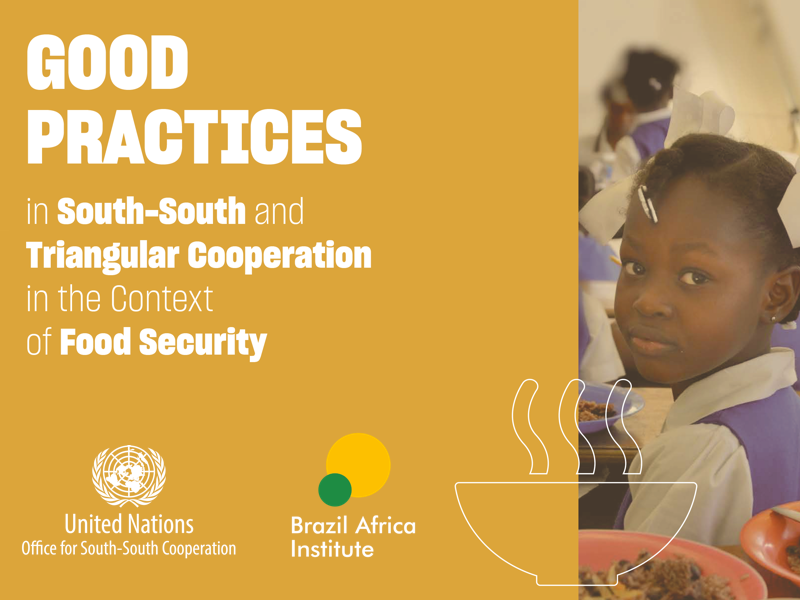 """Launch of """"Good Practices in SSTC in the Context of Food Security"""" Publication"""