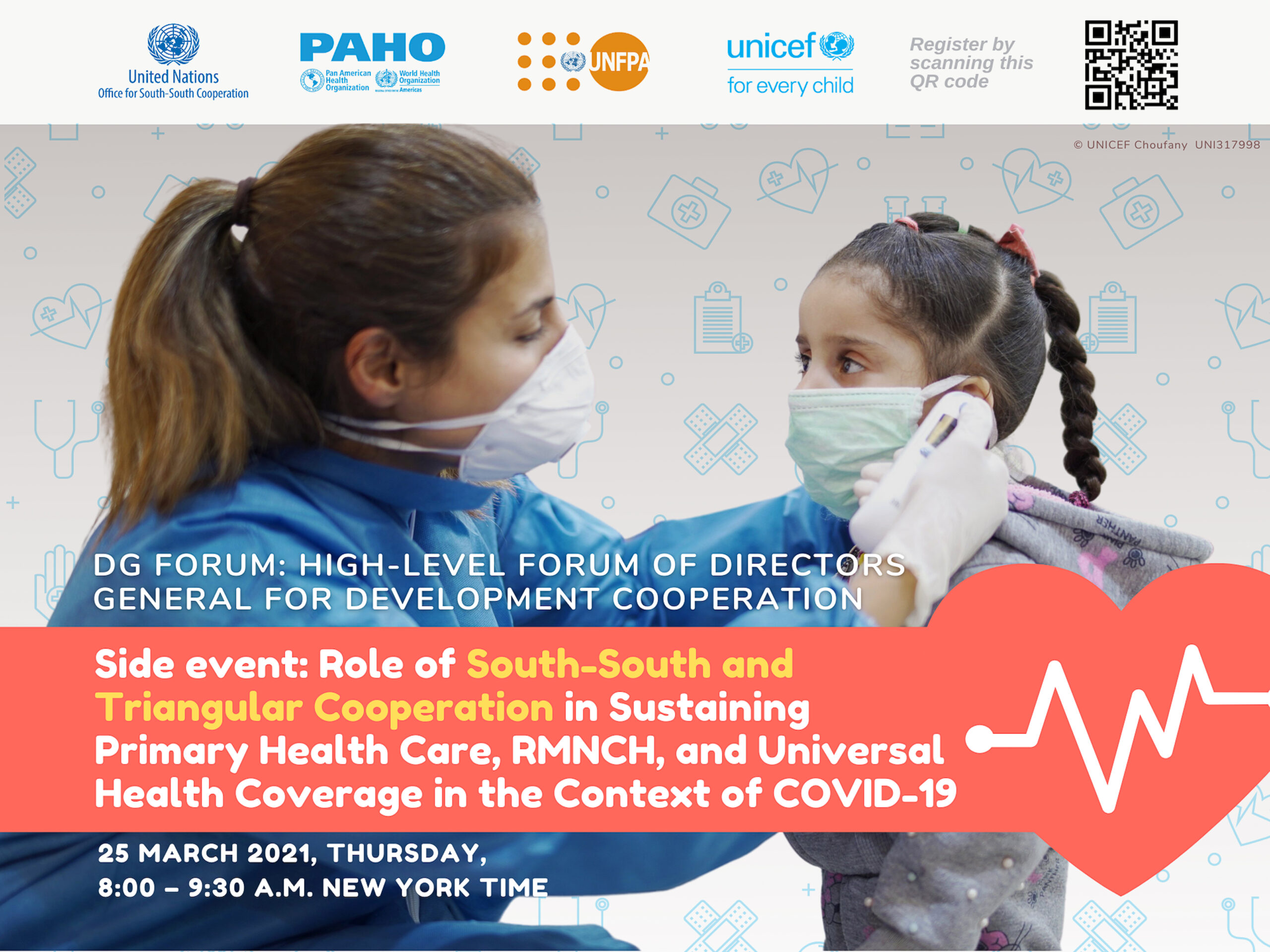 DG Forum Side-Event: Role of SSTC in Sustaining Primary Health Care, RMNCH, and Universal Health Coverage in the Context of COVID-19