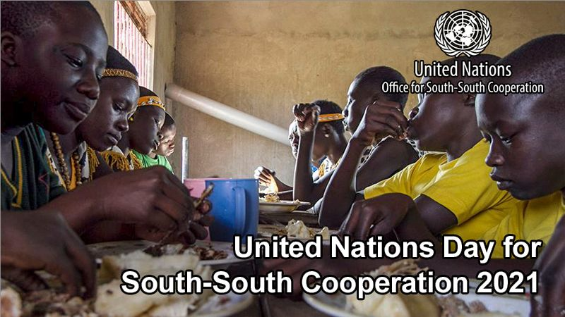 Main Event: United Nations Day for South-South Cooperation 2021, 10 September 2021