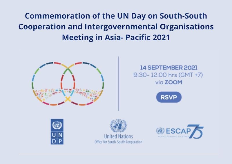 UN Day for SSC Side-event: Intergovernmental Organizations Meeting in Asia-Pacific, 14 September 2021